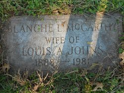 Blanche Louise <I>McCarthy</I> Johns