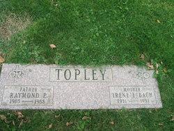 Irene E <I>Bach</I> Topley
