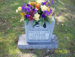 Virginia Carol Taylor