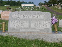 Josephine <I>Welch</I> Holman