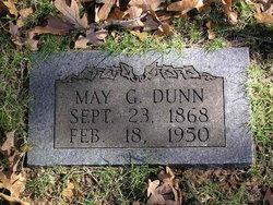 "Mattie May ""May"" <I>Gookin</I> Dunn"