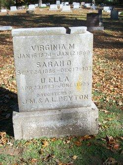 Virginia M Peyton
