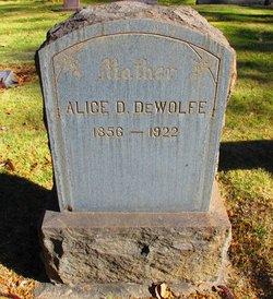 Alice D. DeWolfe