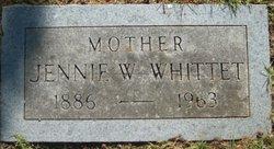 Jennie W Whittet