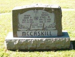 John P McCaskill