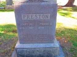 Mary M. <I>Snare</I> Preston