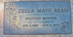 Zella Maye Bean