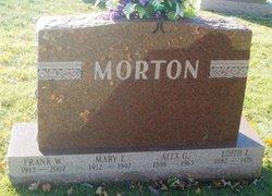 Alex G Morton
