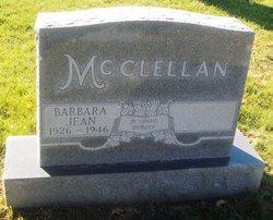 Barbara Jean McClellan