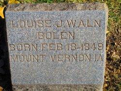 Louise J. <I>Waln</I> Bolen