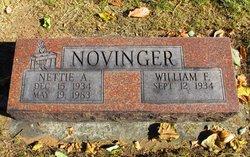 Nettie Alberta <I>Wells</I> Novinger