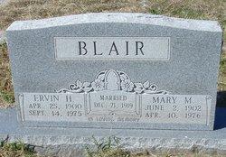 Mary Martha <I>Jones</I> Blair