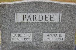Anna B Pardee