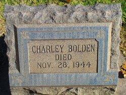 Charley Bolden