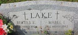 Mabel Irene <I>Snyder</I> Lake