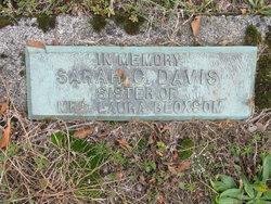 Sarah C Davis