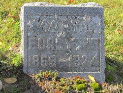Mary L <I>Gaedke</I> Forsythe