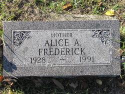 Alice A Frederick
