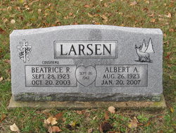 Beatrice R <I>Cousineau</I> Larsen
