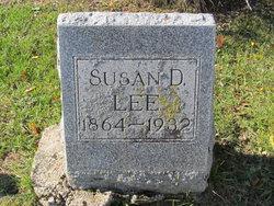 Susan Delilah <I>Savage</I> Lee