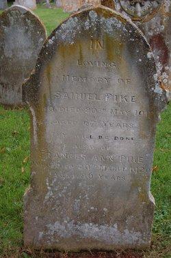 Frances Ann Pike