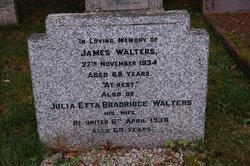 Julia Etta <I>Brandridge</I> Walters