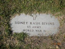 Sidney Rash Bivins