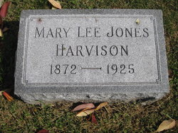 Mary Lee <I>Jones</I> Harvison