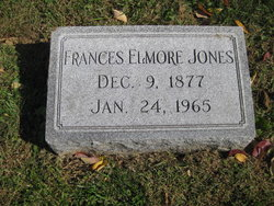 Frances Elmore Jones