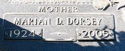 Marian Daisey <I>Dorsey</I> Paulk