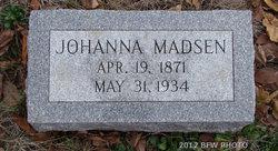 Johanna <I>Jensen</I> Madsen