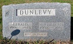 Myrtle <I>Hopes</I> Dunlevy