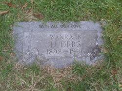 Wanda <I>Barnard</I> Luders