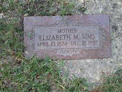 Elizabeth Mae <I>Sumner</I> Sims