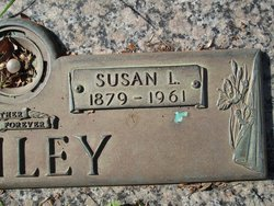 """Susan Lusia """"Susie"""" <I>Sellers</I> Bailey"""