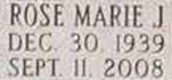 Rose Marie J. Matson