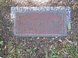 Minnie <I>Downs</I> Ferguson