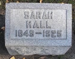 Sarah <I>Young</I> Hall