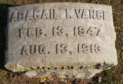 Abagail I. Vance