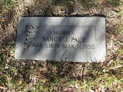 Nancy Jane <I>Johnson</I> Pace