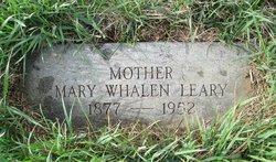 Mary E. <I>Whalen</I> Leary