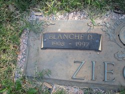 Blanche D Ziegler