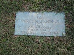 Wesley N Hixson, Jr