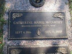 Catherine Marie McCarthy