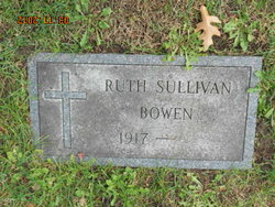 Ruth <I>Sullivan</I> Bowen