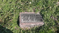 Harriett A <I>Shaw</I> Hood