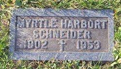 Myrtle <I>Harbort</I> Schneider
