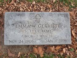 Emma W Gerriett