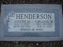 Virginia M. Henderson