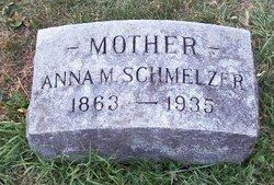 Anna M <I>Statz</I> Schmelzer